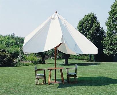 Palladio telescopic, Sun umbrella with telescopic closure