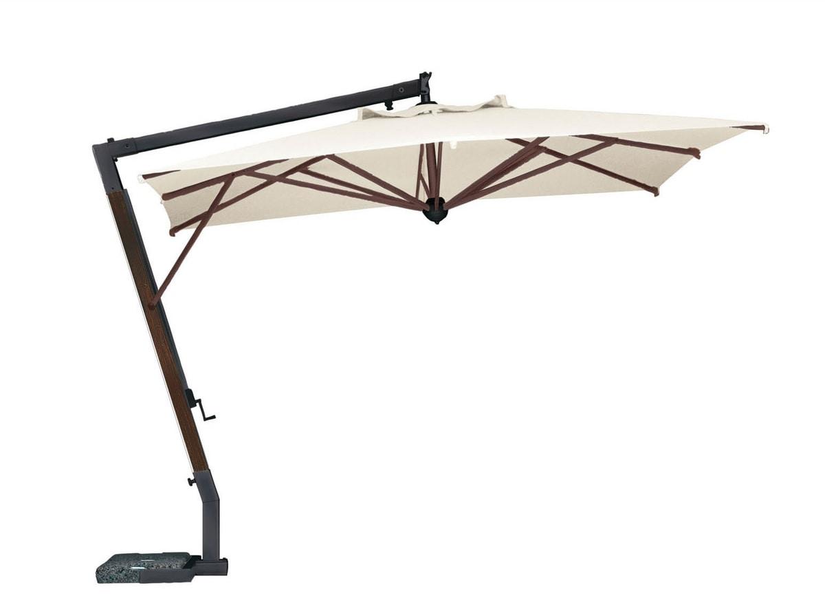 Parà 3040, Rectangular wooden cantilever parasol