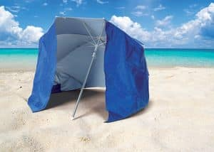 Beach sea umbrella Piuma � PI160UVA, Parasol with tent UVA and UVB protection suited for beach