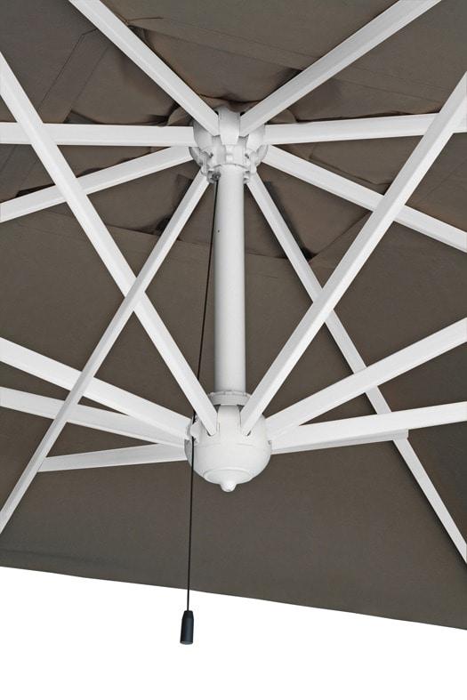 Rimini arm, Sun nmbrella with arm made of painted aluminium