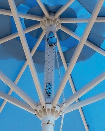 Rimini Standard, Sturdy and practical parasol