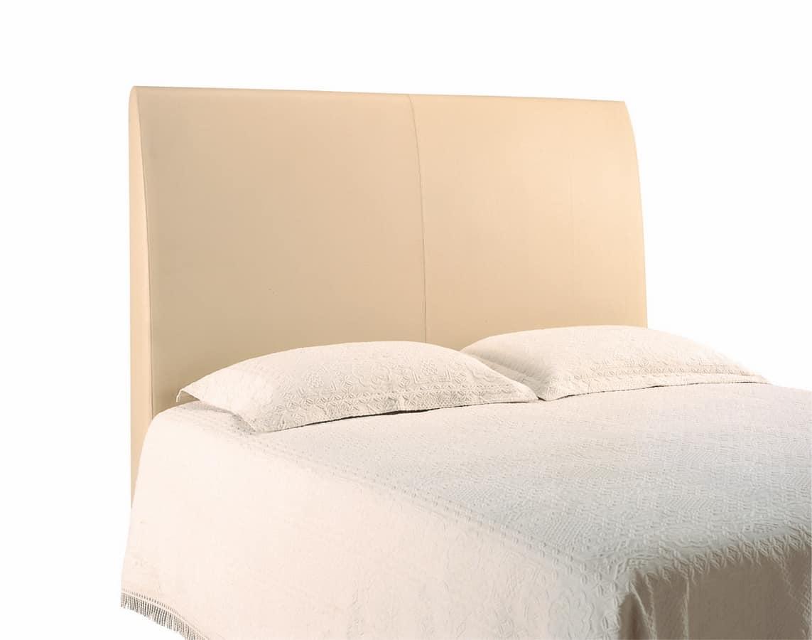 Scarlett double bed headboard, upholstered, Padded headboard for hotel beds