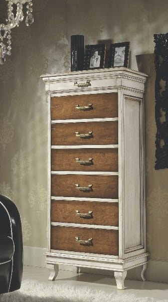 Armonie chest of drawers, Classic style weekly chest of drawers