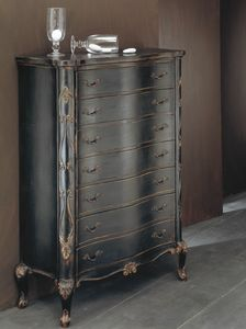 Art. 20506, Weekly  chest of drawers in classic style