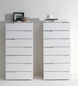 BLOOM dresser, White lacquered dresser