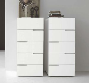 Breccia, Chest of drawers with a geometric motif