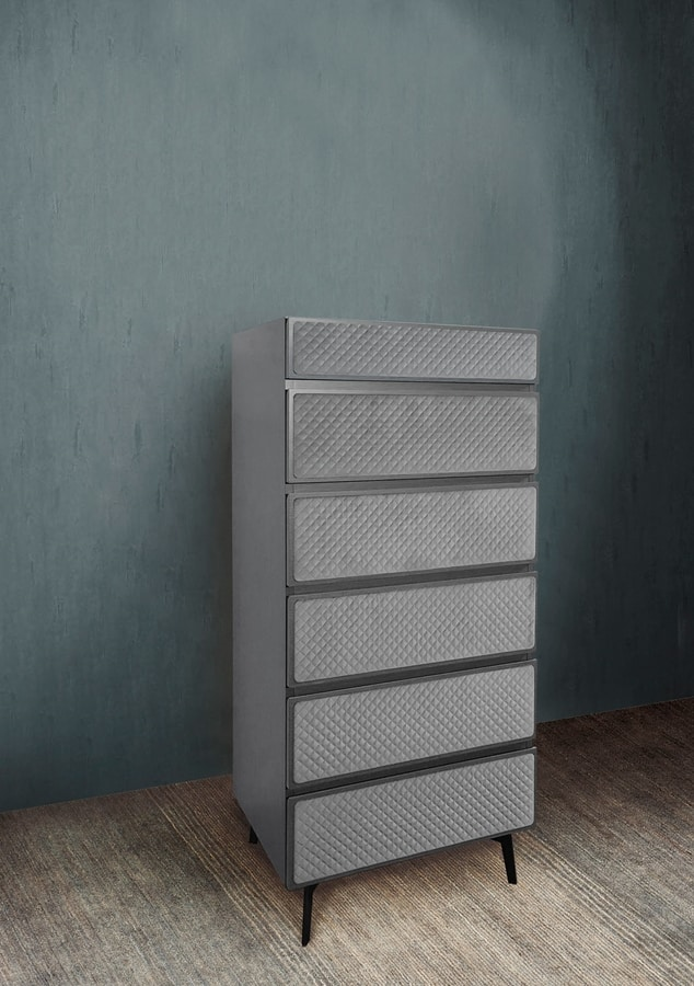 Eos Art. E0012-G, Modern weekly chest of drawers