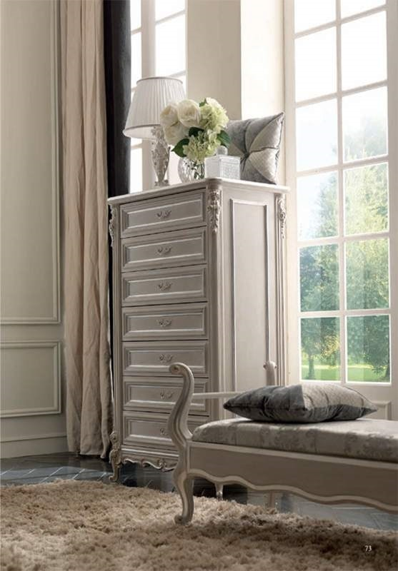 Luigi XVI Art. SET01/L/82, Tall chest of drawers with classical style