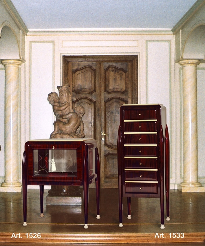 Ruhlmann Art Déco Art. 1533, Cabinet with 7 drawers