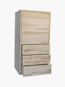 Settimino, Wooden chest of drawers with 7 drawers