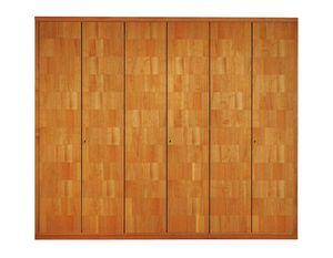 '900 0362, Wooden wardrobe with fine veneer