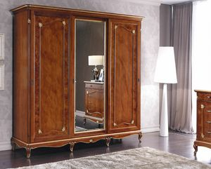 Art. 3132, Wardrobe with 3 sliding doors