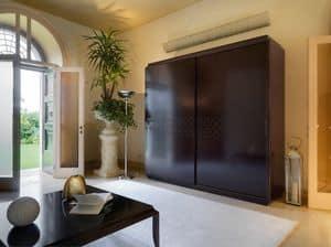Art. VL717, Wardrobe for bedroom, equipped internally