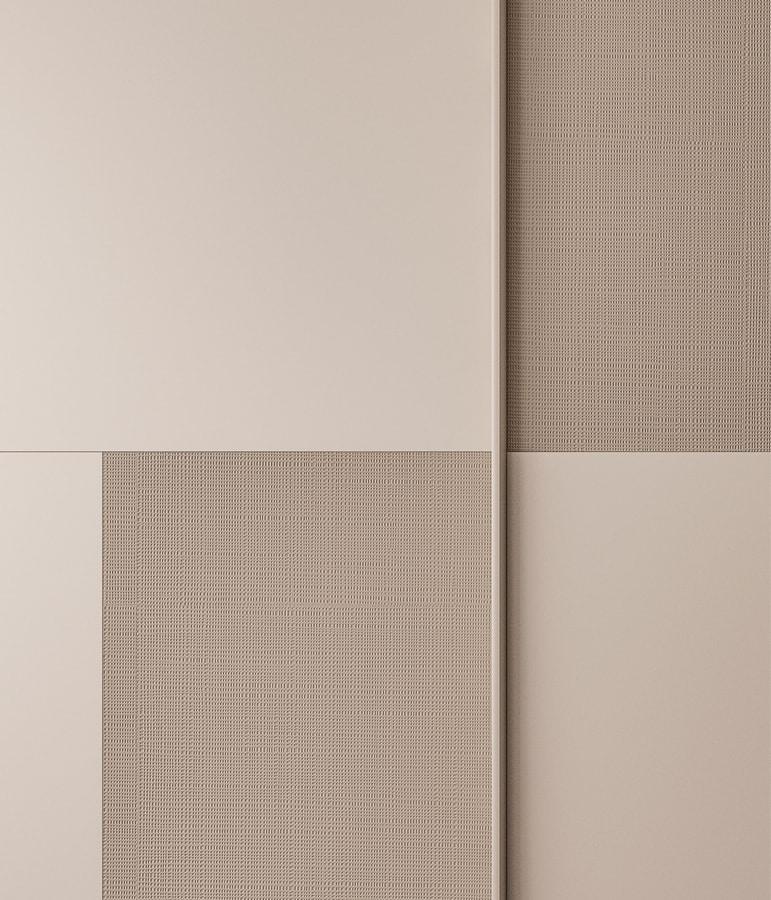 BRERA, Sliding wardrobe, with decorative doors