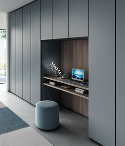 BRIO, Bridge wardrobe with hinged doors