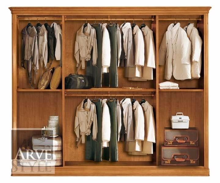 Capri wardrobe, Wardrobe with drawers and hangers