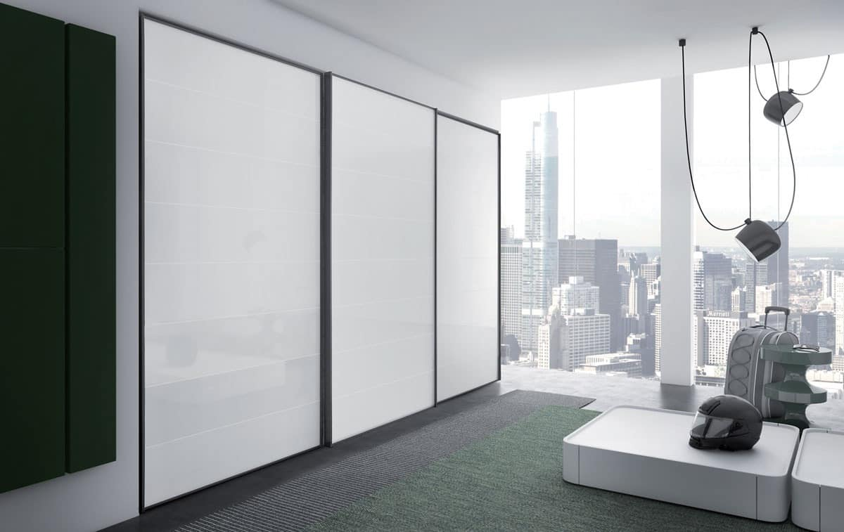 Cornice, Wardrobe with sliding doors for bedrooms