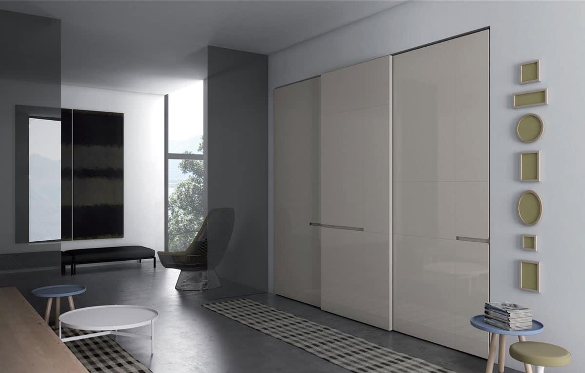 Crea, Wardrobe with sliding doors for bedrooms