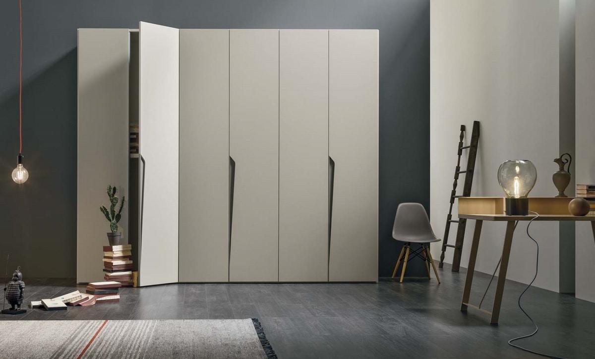 Drop, Wardrobe with a refined design