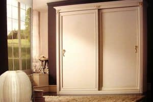 Iride, Wardrobe with 2 sliding doors for luxury residences