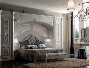 Luigi XVI Art. ARP01/L/440, Elegant bridge wardrobe, classic style