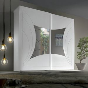 Luna LUNA5151-249, Wardrobe with 2 engraved sliding doors