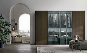 Metropolis, Wardrobe with glass doors