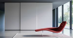 MILLE, Modern wardrobe with sliding doors