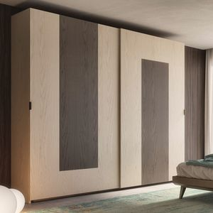 Nova NOVA1317T, Wardrobe with sliding doors in ash wood
