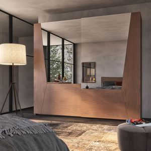 Nova NOVA1319T, Sliding door wardrobe with mirrors