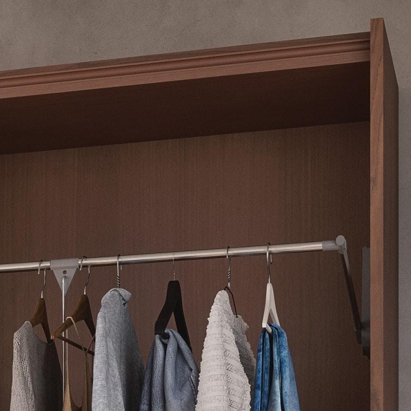 Nova NOVA1319T, Sliding door wardrobe with mirrors