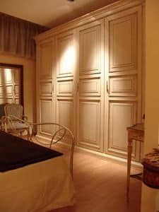 Priori, Wardrobe with 4 doors for hotels and villas