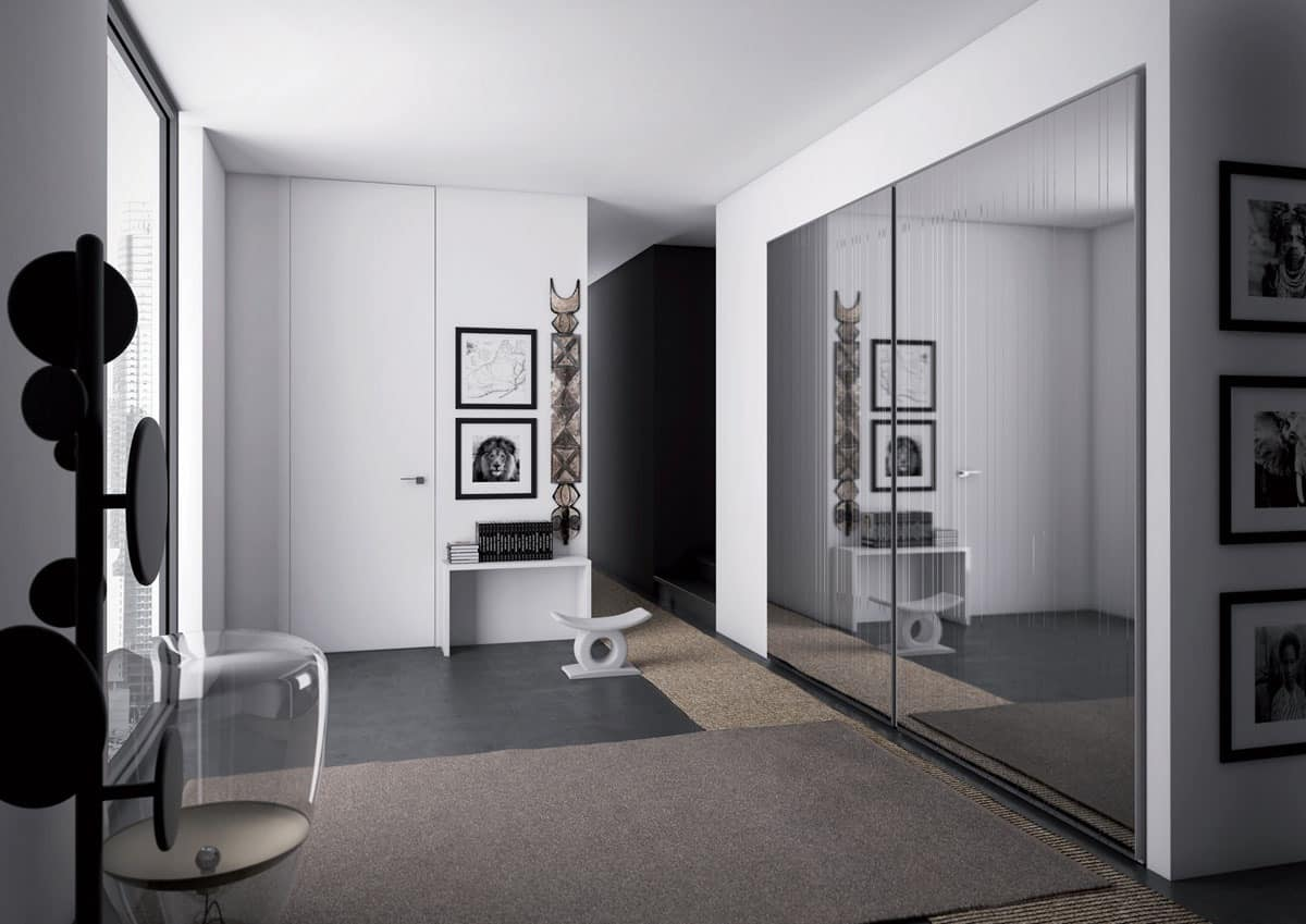 Raggio, Wardrobe with hinged doors for your home