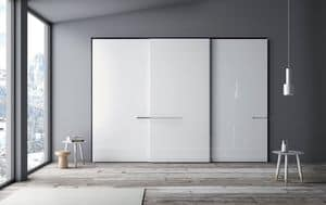 Riflesso, Wardrobe for bedrooms with sliding doors