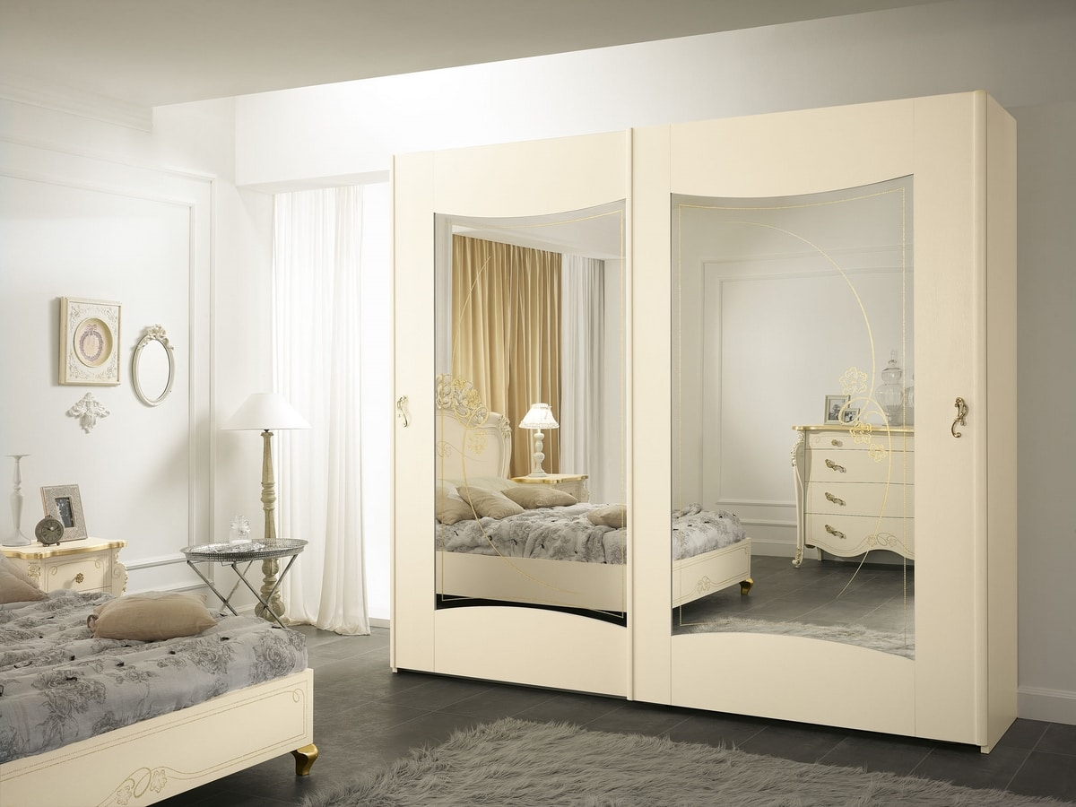 Viola wardrobe, Wardrobe with sliding doors