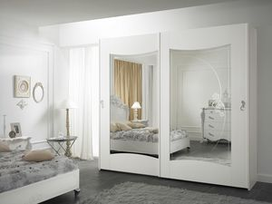Viola wardrobe, Wardrobe with sliding doors