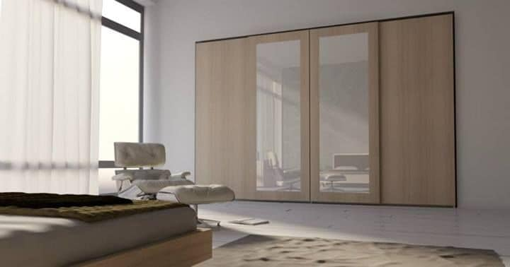 Wardrobe 20, Modern wardrobe for bedrooms , wardrobewith sliding doors suited for the sleeping area