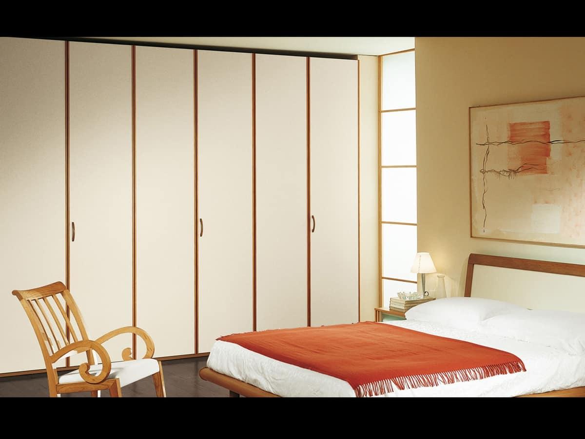 Wardrobe Paro 10, Robust and stylish wardrobe for sleeping area and living room