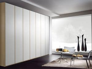 Wardrobe Idra 02, Modular wardrobe, with various finishes and sizes