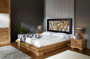 Bed Ramo, Ethnic bed made of bamboo
