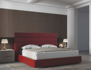 ELEGANCE, Upholstered bed with headboard