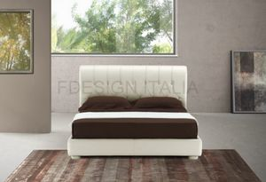 Glam, Double bed with leather headboard