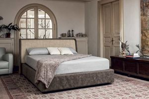 MARIN, Double bed for the center of the room