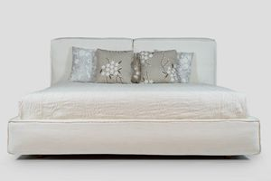 Soft, Double bed with storage