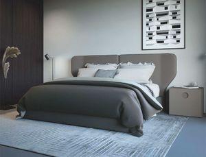 TULIP, Bed with wraparound headboard