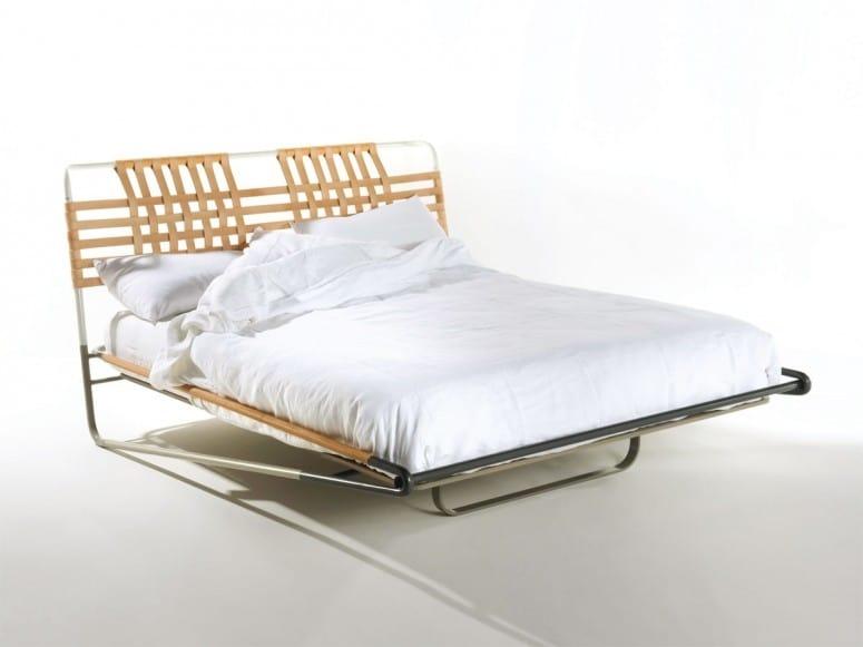 Urbino, Modern tubular bed, suitable for holiday homes