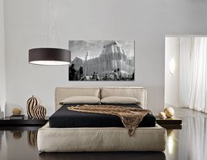 BOSS, Upholstered bed with container