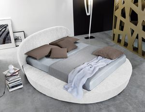GIOTTO, Bed with container, round base