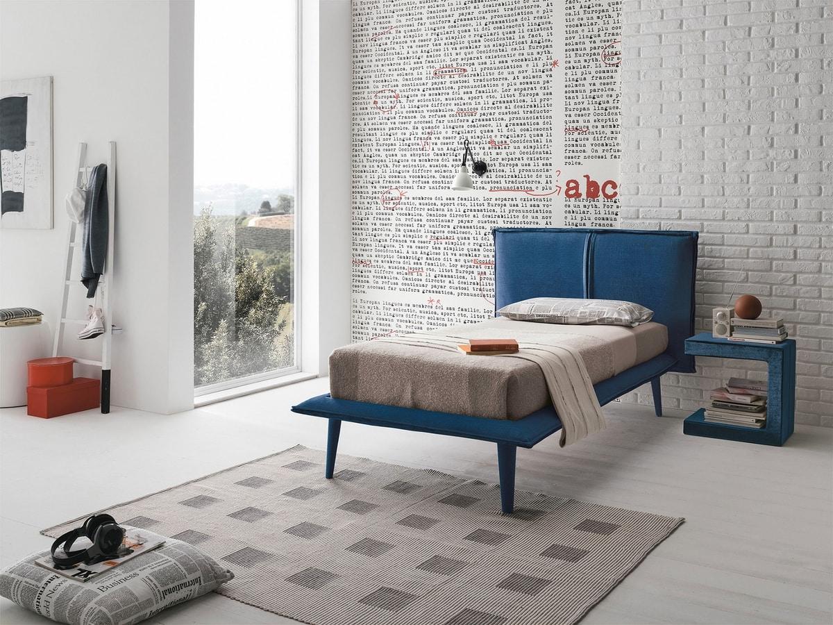 ITACA SB462, Padded single bed