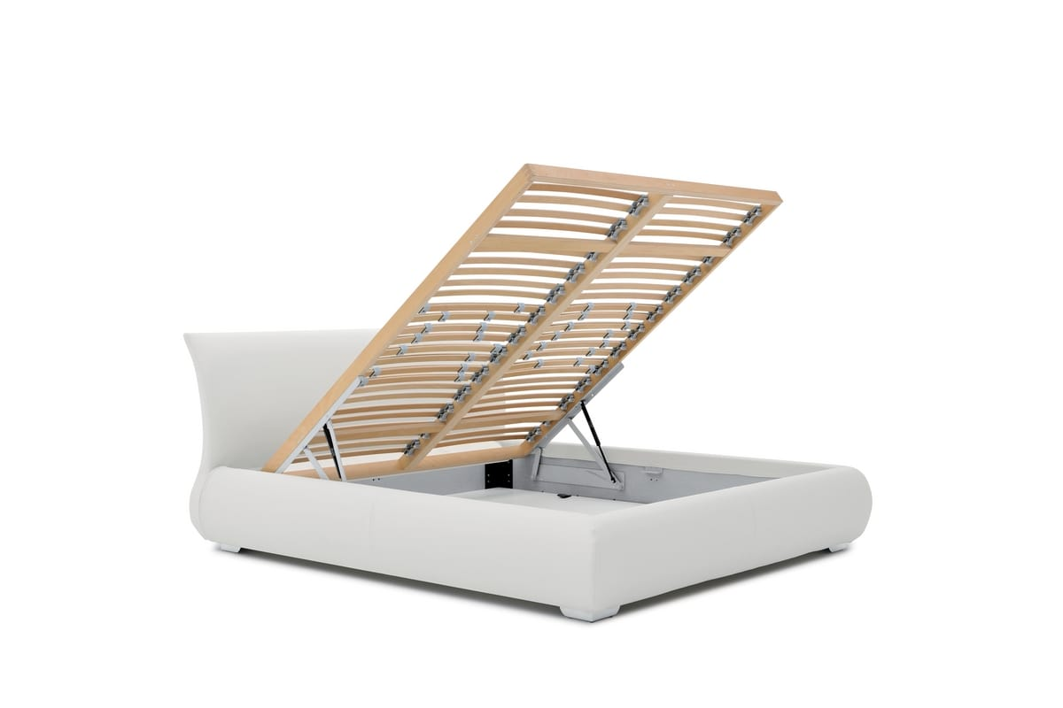 LUCAS, Single bed with storage compartment